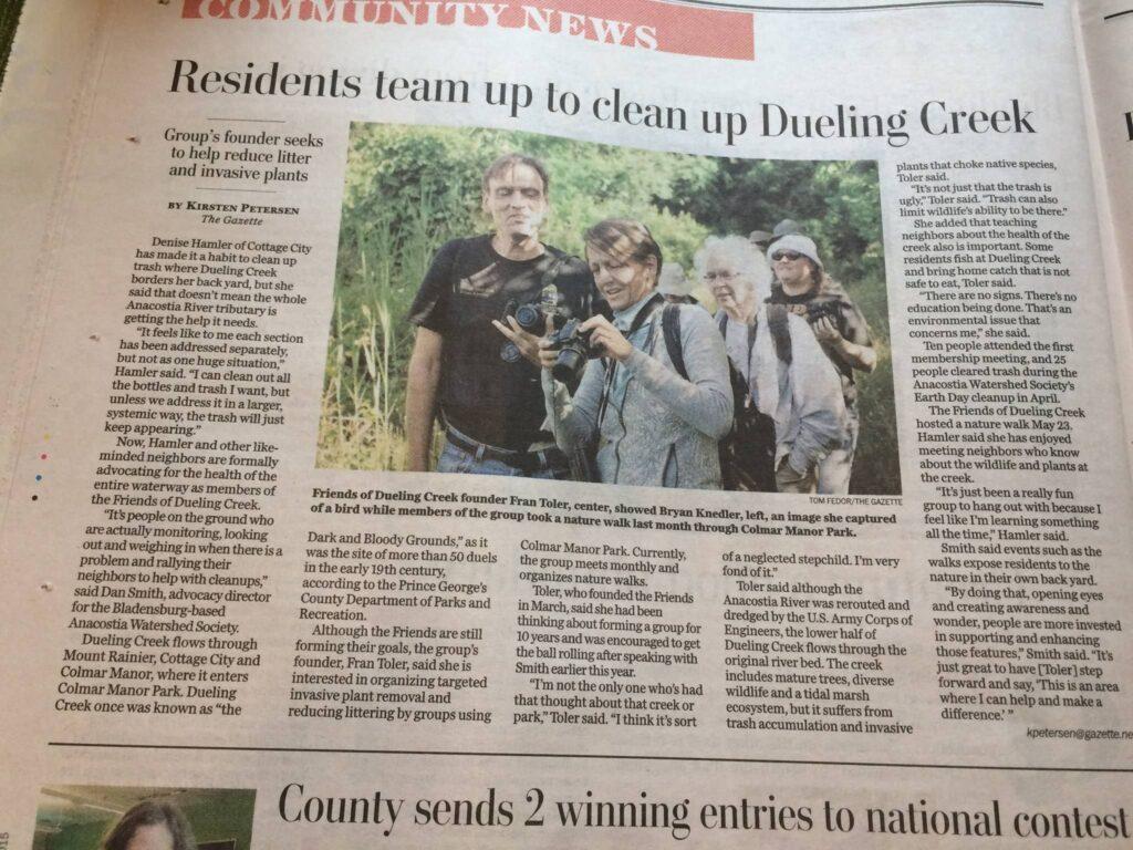 Saving Dueling Creek
